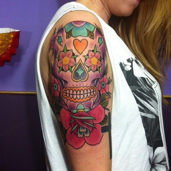 Sugar Skull Tattoo Designs Tumblr