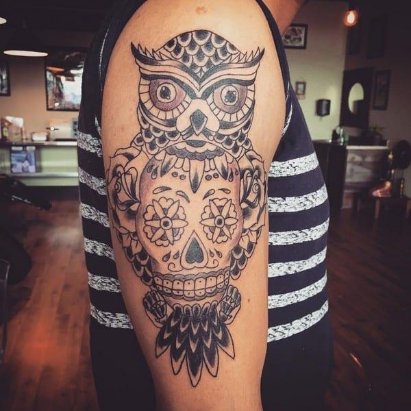 Sugar Skull Tattoos Meaning