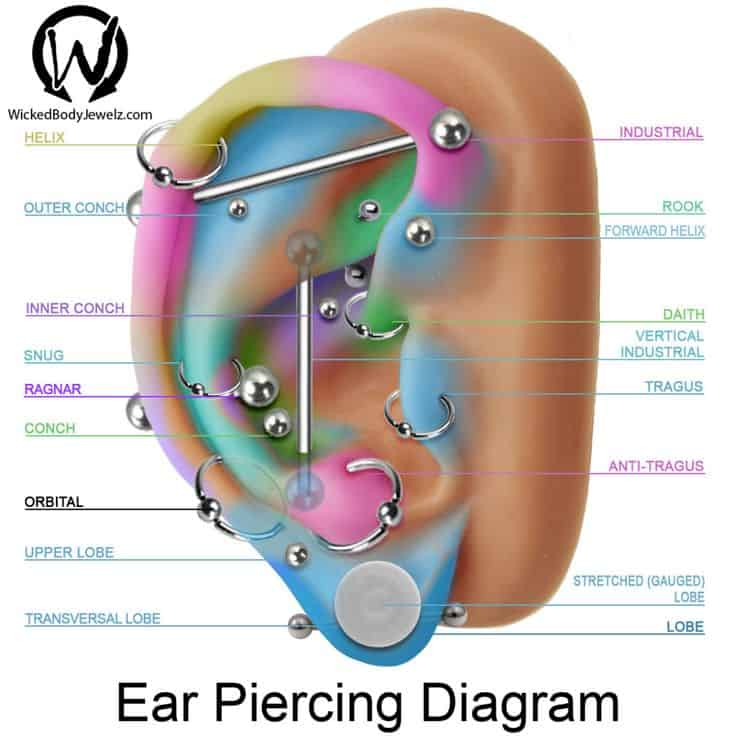 50 Orbital Piercing Ideas And Faqs Ultimate Guide 2018