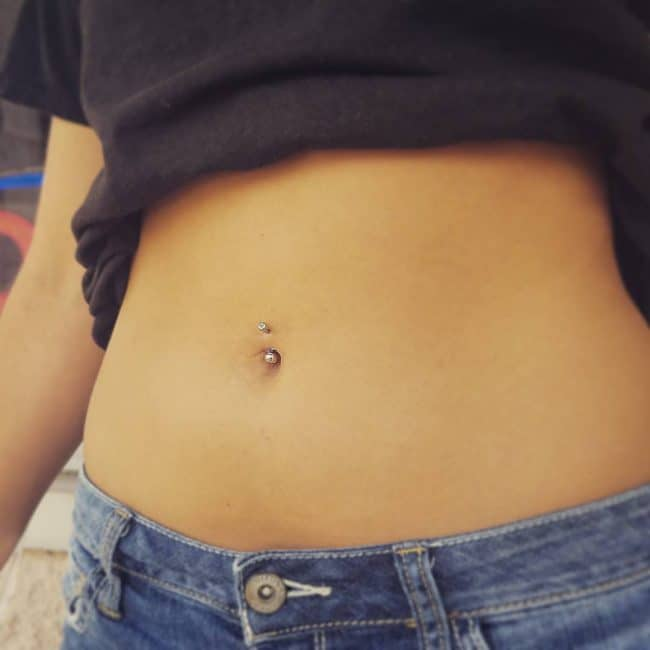 120 Belly Button Piercing Examples, Jewelry And Faq-7561