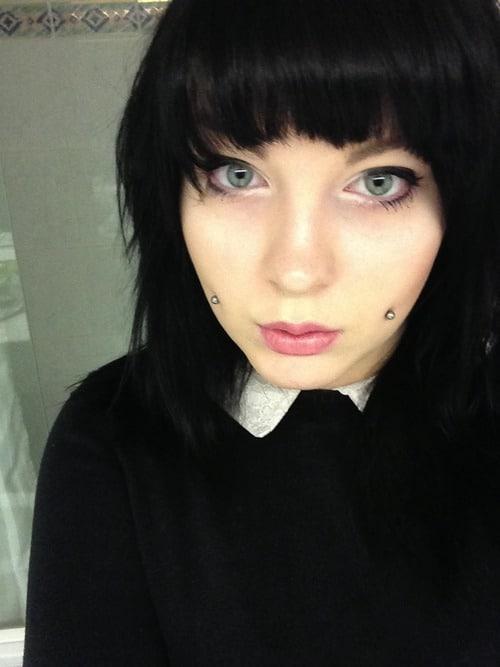 Dimple Cheek Piercings For Girls
