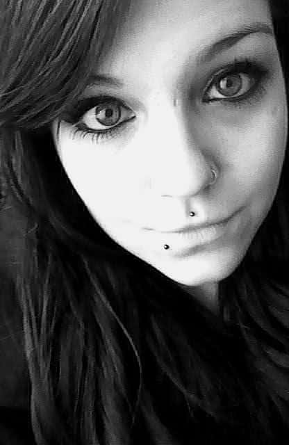 Nostril, Lower Lip And Medusa Piercing