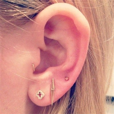Cartilage Piercing Tragus