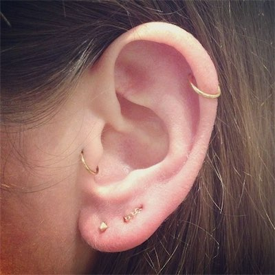 Cute Earring Tragus