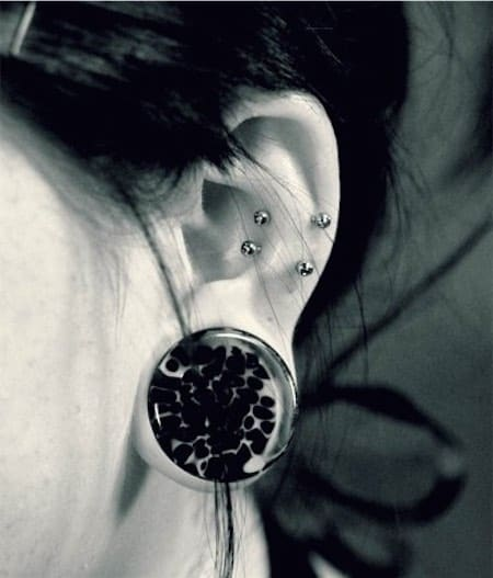 Double Snug Piercing