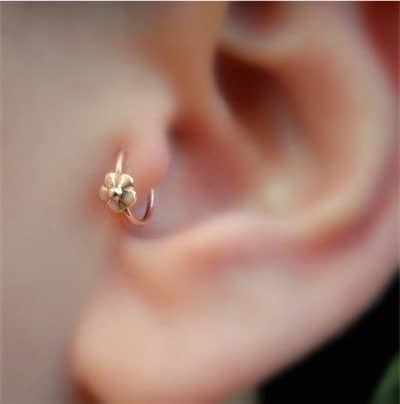 60 Tragus Piercing Pictures Jewelry Pain Healing Aftercare