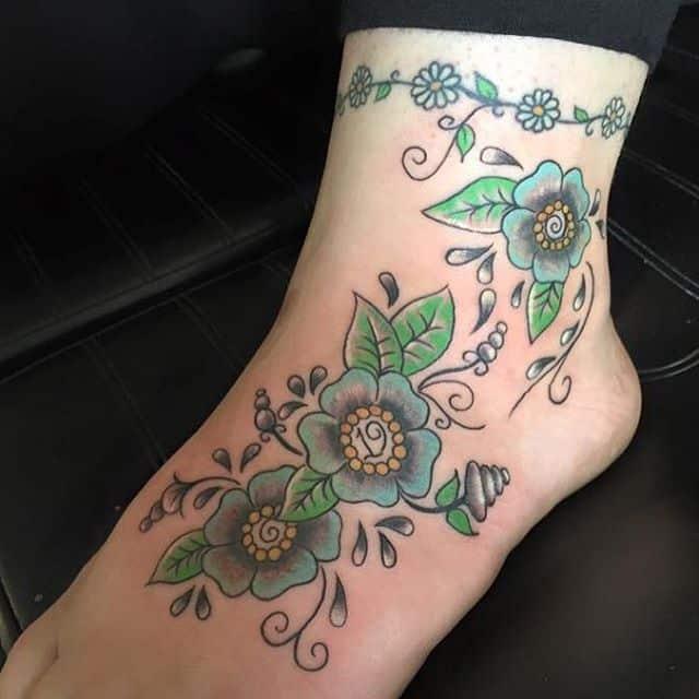 150 Meaningful Small Ankle Tattoos Ultimate Guide 2019