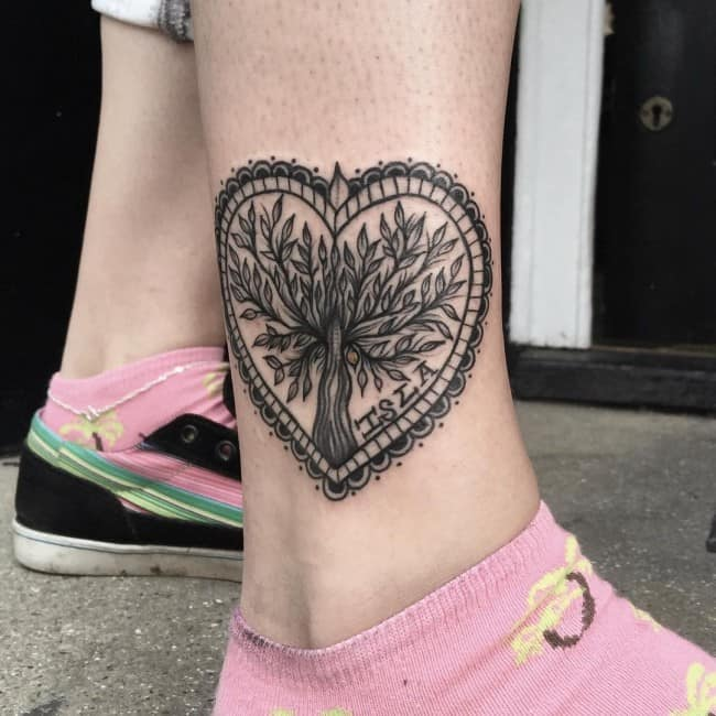 cffbd760eddbe 150 Meaningful Small Ankle Tattoos (Ultimate Guide 2019) - Part 2