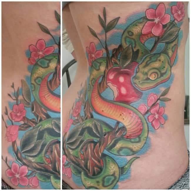 snake tattoo (3)