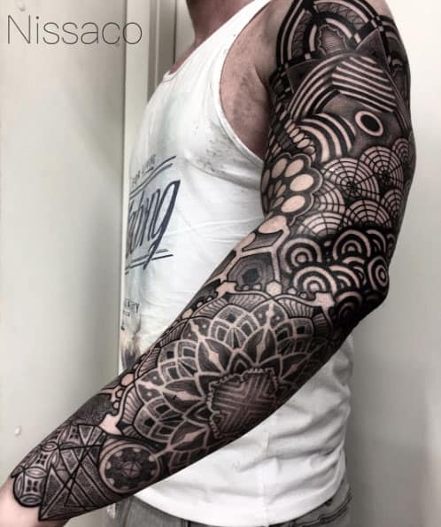 170 sleeve tattoos ideas for men women april 2018 for Male sleeve tattoo ideas