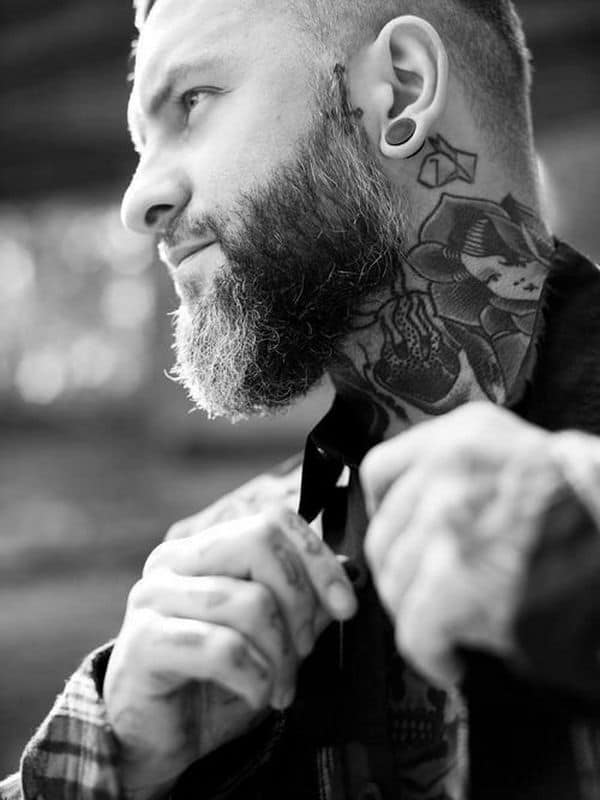 d5a6f019a421e 150 Neck Tattoos For Men Women (Ultimate Guide, July 2019)