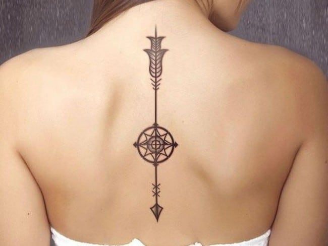 150 Elegant Spine Tattoos An Ultimate Guide February 2019