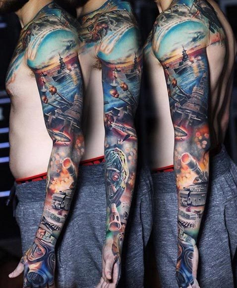 200 Best Sleeve Tattoos For Men Ultimate Guide February 2019