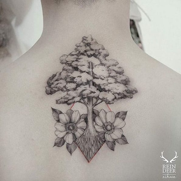 Negative Space Tree by Zihwa