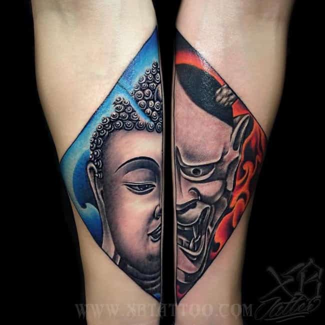 Buddhist Elephant Tattoo Meaning: 60 Mystical Buddha Tattoos And Meanings [2017 Collection]