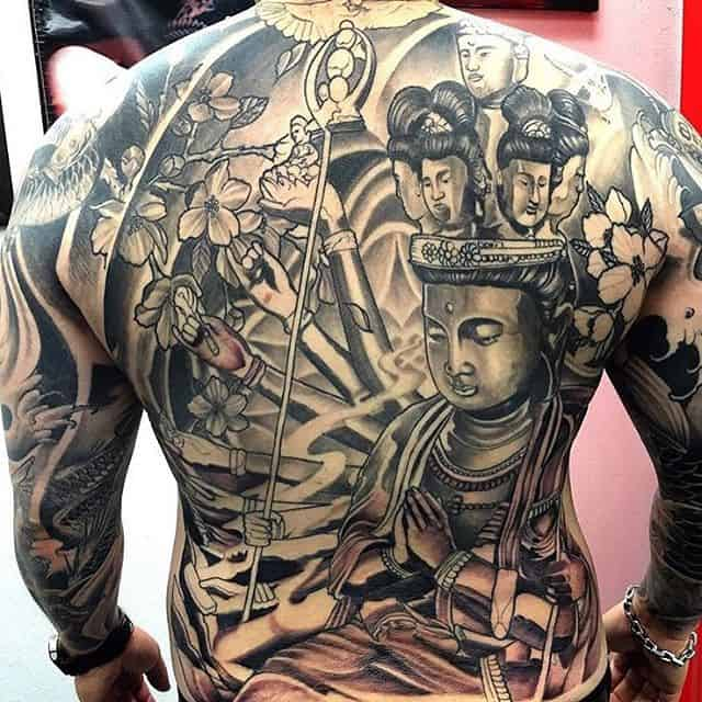 60 mystical buddha tattoos and meanings april 2018 part 2. Black Bedroom Furniture Sets. Home Design Ideas