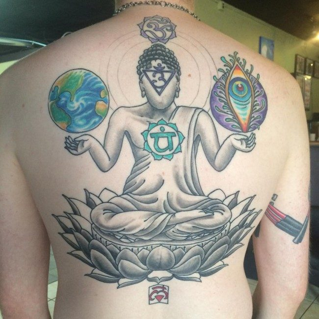 100 Mystical Buddha Tattoos Meanings September 2018