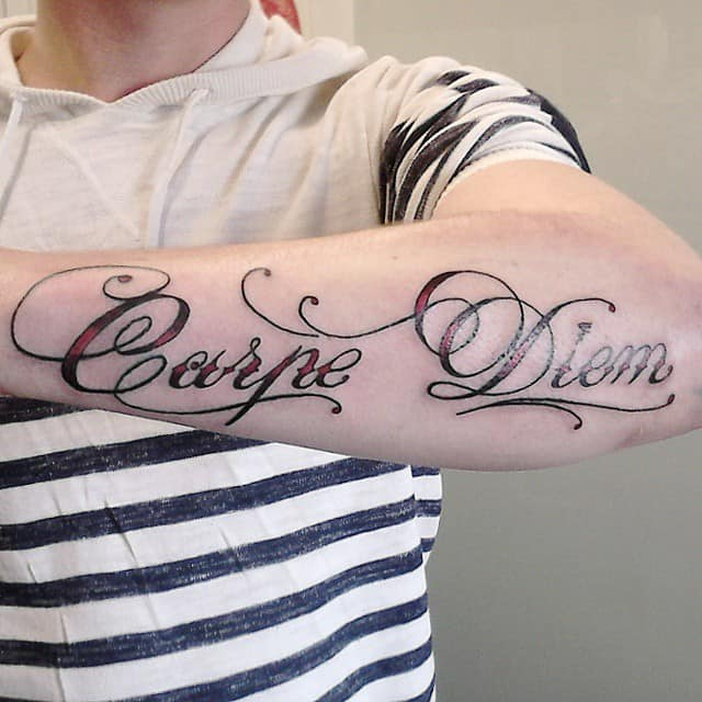 carpe diem tattoo