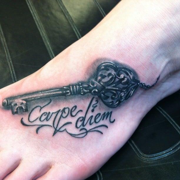 carpe diem tattoo
