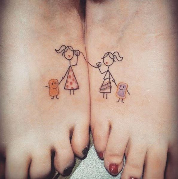 150 Heart Touching Sister Tattoos Ideas (May 2018)