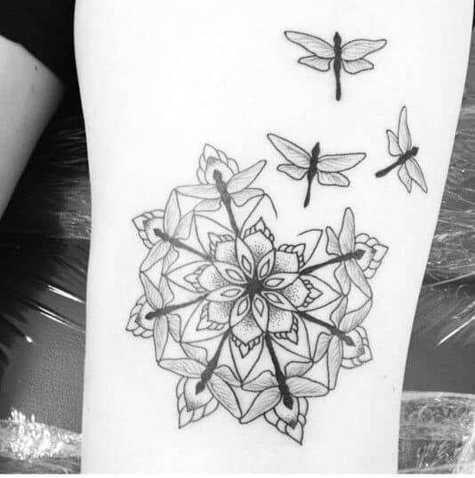 dragonfly tattoo (18)