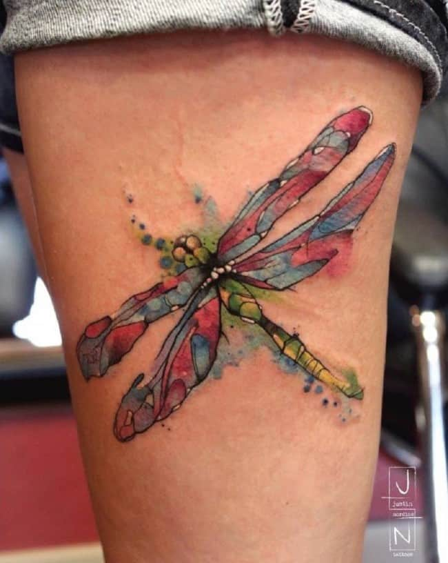 dragonfly tattoo (5)