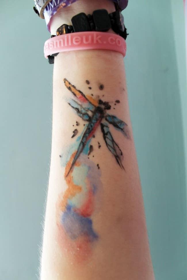 Dragonfly Tattoo 6