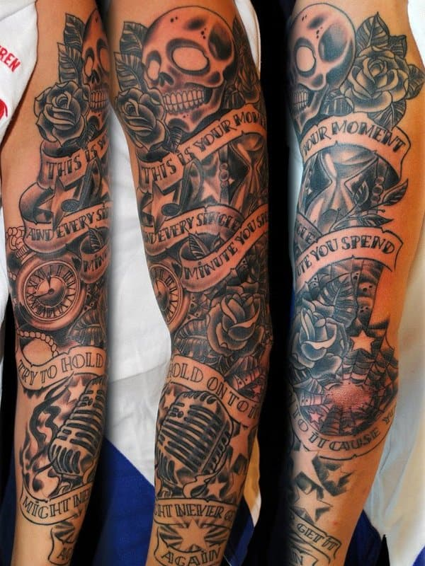 bdee7a7fe 200 Best Sleeve Tattoos For Men (Ultimate Guide, July 2019)