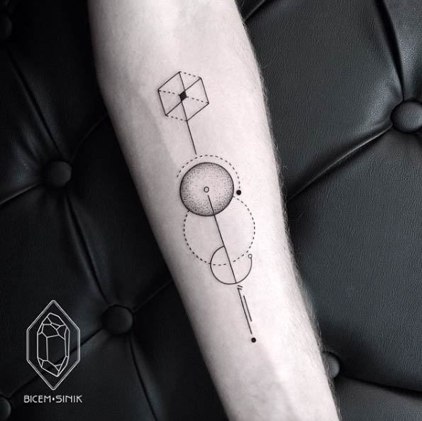 150 Sacred Geometric Tattoos Meanings Ultimate Guide 2018
