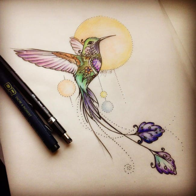 hummingbird tattoos