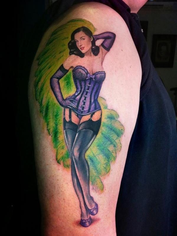 150 Sexy Pin Up Girls Tattoos Ultimate Guide February 2019
