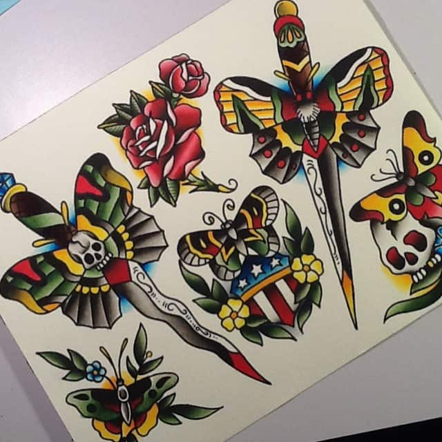 sailor jerry s tattoos