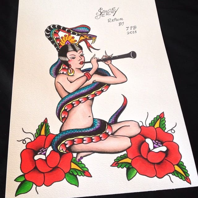 sailor Jerry's tattoos