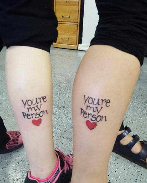 Funny Sister Tattoos