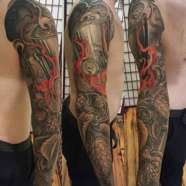200 Best Sleeve Tattoos For Men (Ultimate Guide, January ... Uberhaxornova Tattoo Sleeve