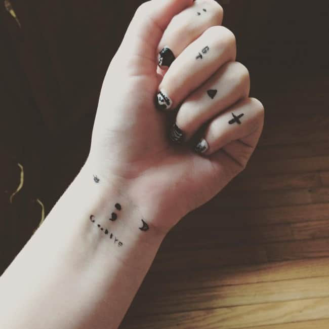 Small Tattoo Size: 150 Cute Small Tattoos Ideas For Women (October 2019)