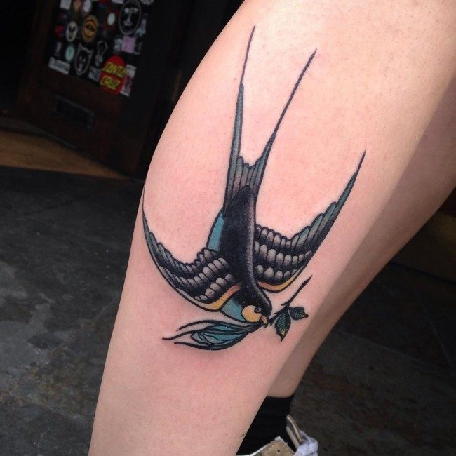 150 Meaningful Swallow Tattoos Ultimate Guide June 2019