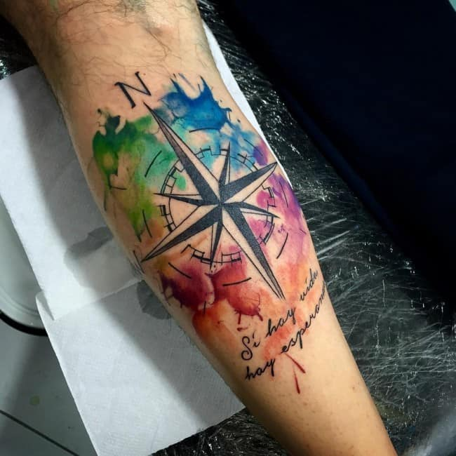 150 Artistic Watercolor Tattoos Ideas June 2018 Part 6