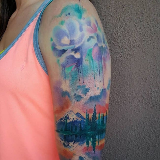 150 Artistic Watercolor Tattoos Ideas Ultimate Guide 2019