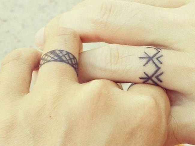 150 Best Wedding Ring Tattoos Designs (November 2018)