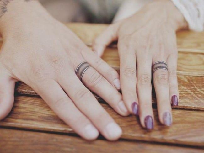 150 Best Wedding Ring Tattoos Designs (April 2018) - Part 2