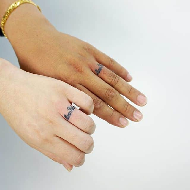 150 Best Wedding Ring Tattoos Designs (August 2019