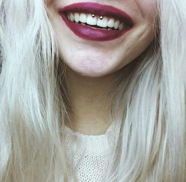 Smiley Piercing designs 3