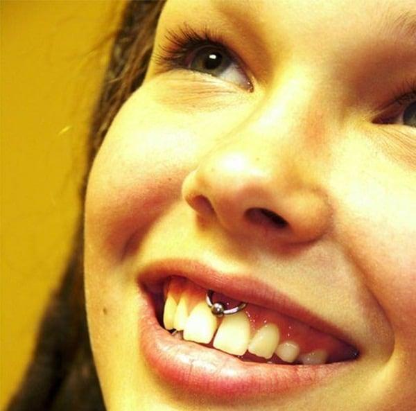 Smiley Piercing designs 31