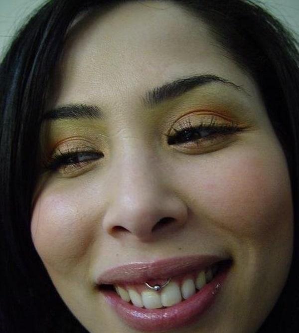 Smiley Piercing designs 32