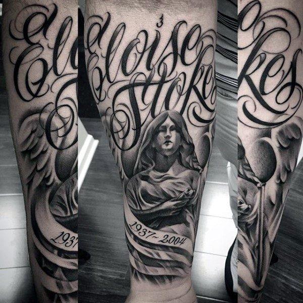 150 Meaningful Memorial Tattoos Ideas October 2018