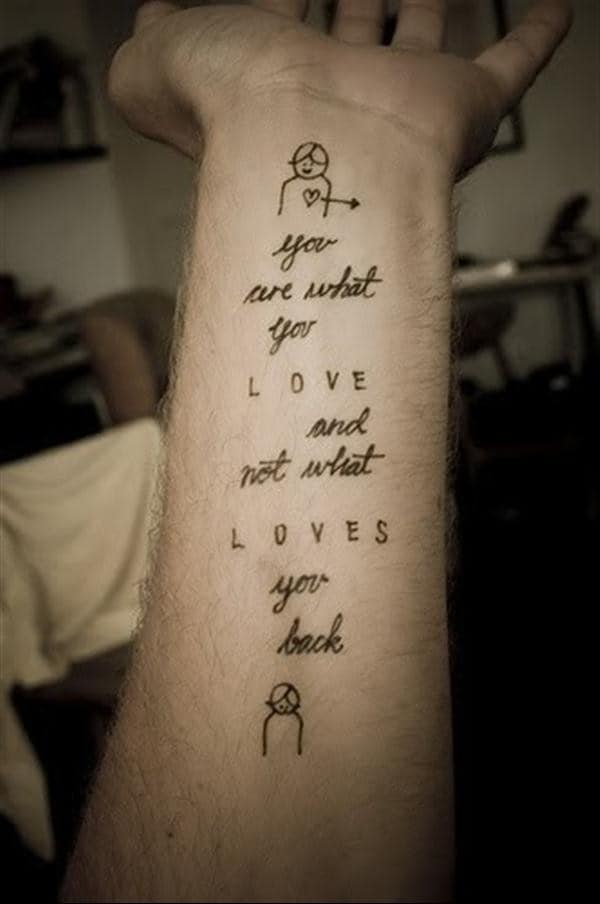 tattoo quotes love