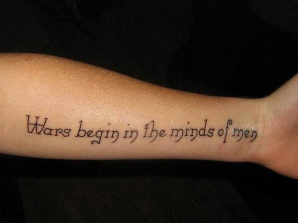 tattoo quotes men