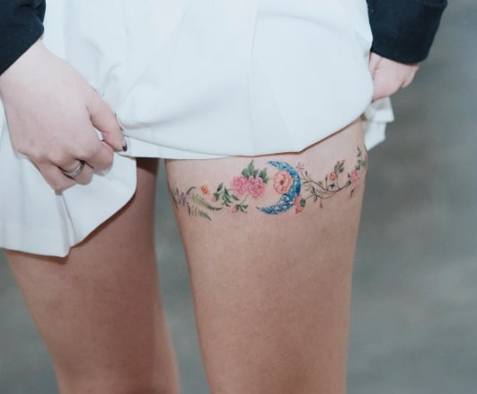 Floral Band by Sol Art