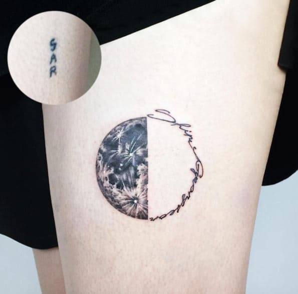 Lunar Cover-up by Ida